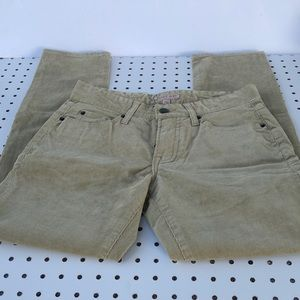Cape Juby Corduroy  pants NEW with tag size 27/28
